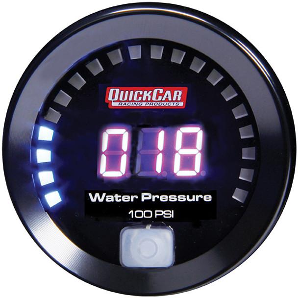 67-008 Digital Water Pressure Gauge 0-100 Quickcar Racing Products