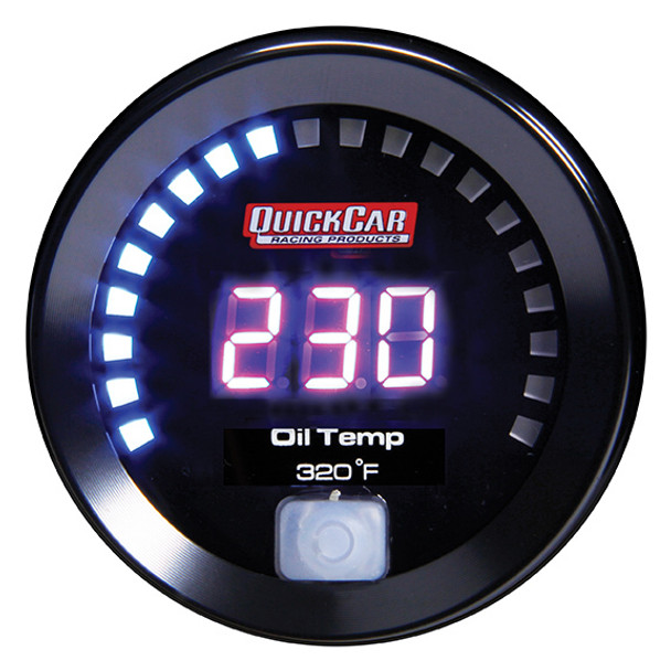 67-009 Digital Oil Temperature Gauge 100-320 Quickcar Racing Products