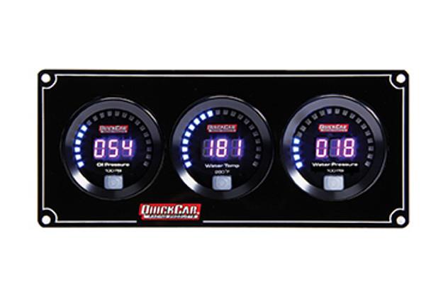 67-3016 Digital 3-Gauge Panel /WP Quickcar Racing Products