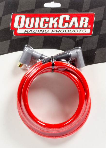 40-485 Coil Wire - Red 48in HEI/Socket Quickcar Racing Products