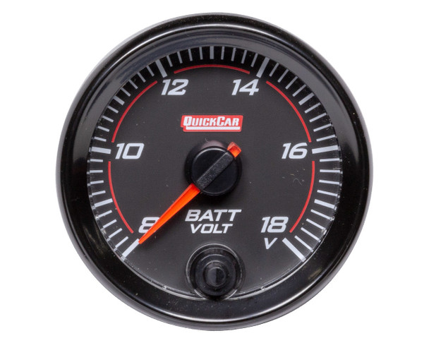 69-007 Redline Gauge Voltmeter Quickcar Racing Products