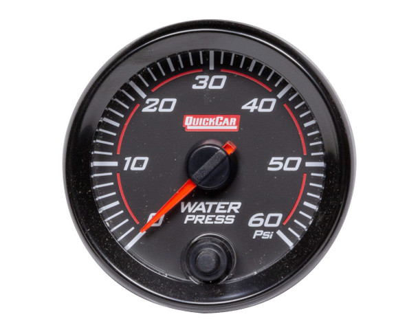 69-008 Redline Gauge Water Pressure Quickcar Racing Products