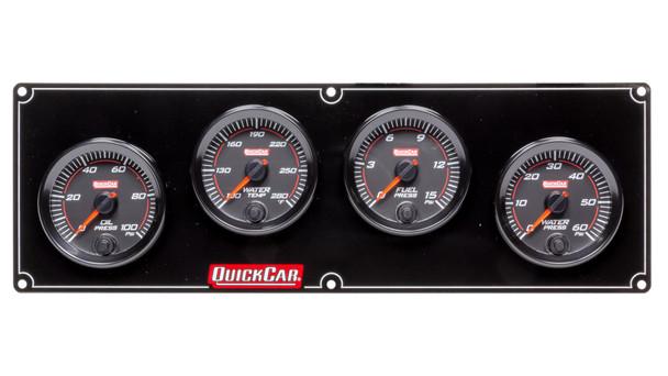 Redline 4 Gauge Panel OP/WT/FP/WP 69-4026 Quickcar Racing Products