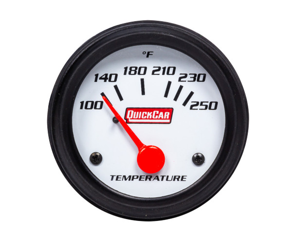 Gauge Water Temperature 2in Open Wheel QRP611-6205 Quickcar Racing Products