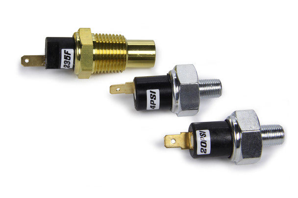Mechanical Gauge Senders (3) OP / WT / FP QRP61-751 Quickcar Racing Products