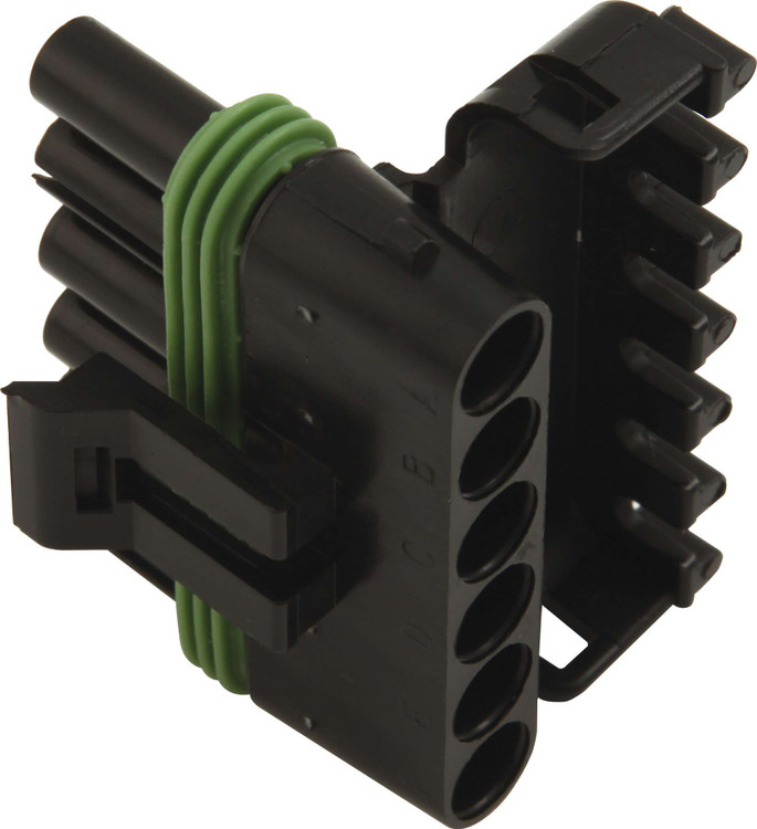 50-360 Female 6 Pin Connector Quickcar Racing Products