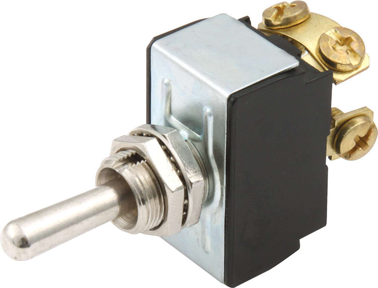 Toggle Switch - Ignition/Start - Off/On/Momentary - Single Pole - 25 Amp Continuous - 12V - Each