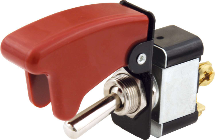 50-520 Toggle Switch With Flip Cover Quickcar Racing Products