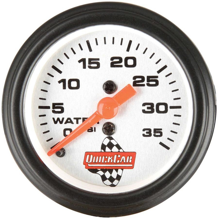 611-6008 Water Pressure Gauge 2in Quickcar Racing Products