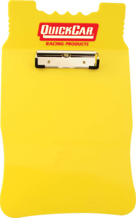 Clipboard - Acrylic - Yellow - Each