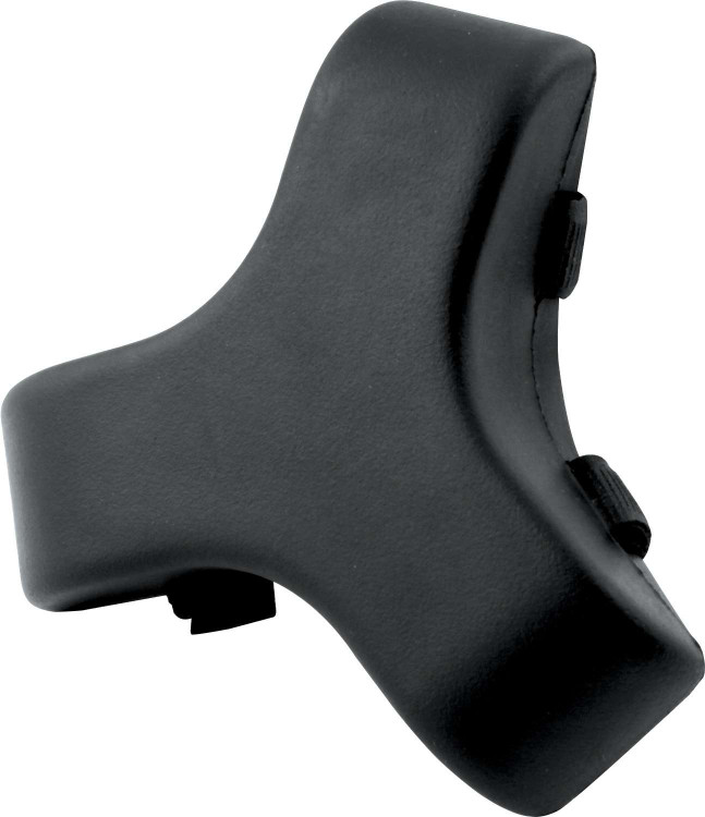 Steering Wheel Pad - Molded - Hook and Loop Attachment - Black - Each