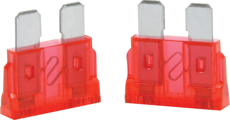 50-910 10 Amp ATC Fuse Red 5pk Quickcar Racing Products
