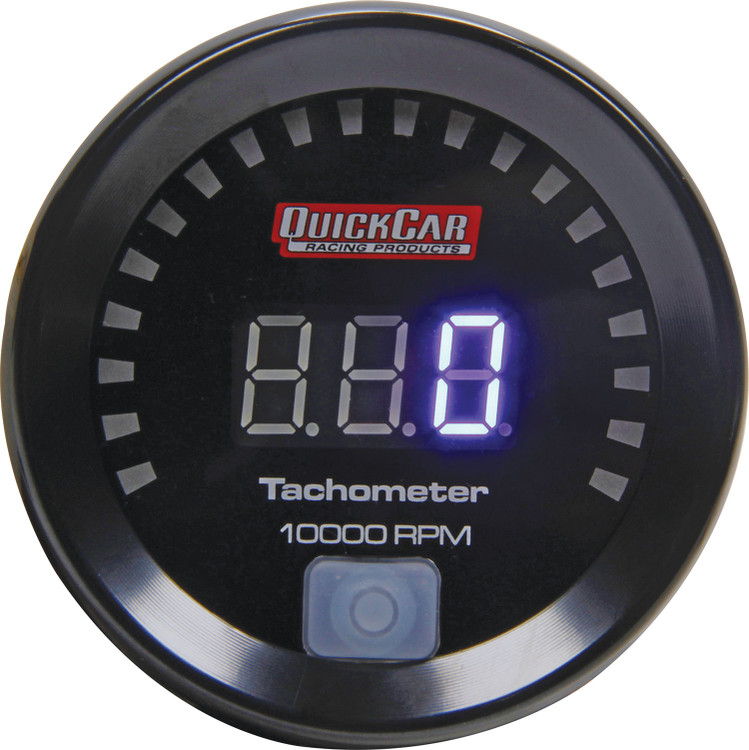 67-001 Small Diameter Digital Tachometer Quickcar Racing Products