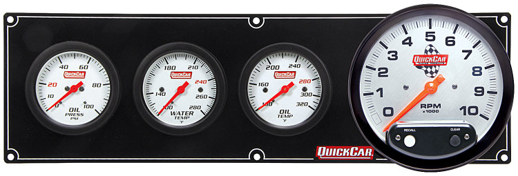 61-7741 Extreme 3-1 OP/WT/OT w/ 5in Tach Quickcar Racing Products