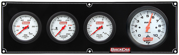 61-77423 Extreme 3-1 OP/WT/FP w/ 3in Tach Quickcar Racing Products