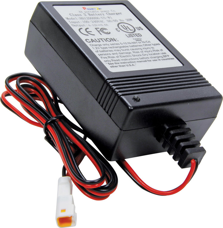 63-604 Battery Charger for Digital Gauges Quickcar Racing Products