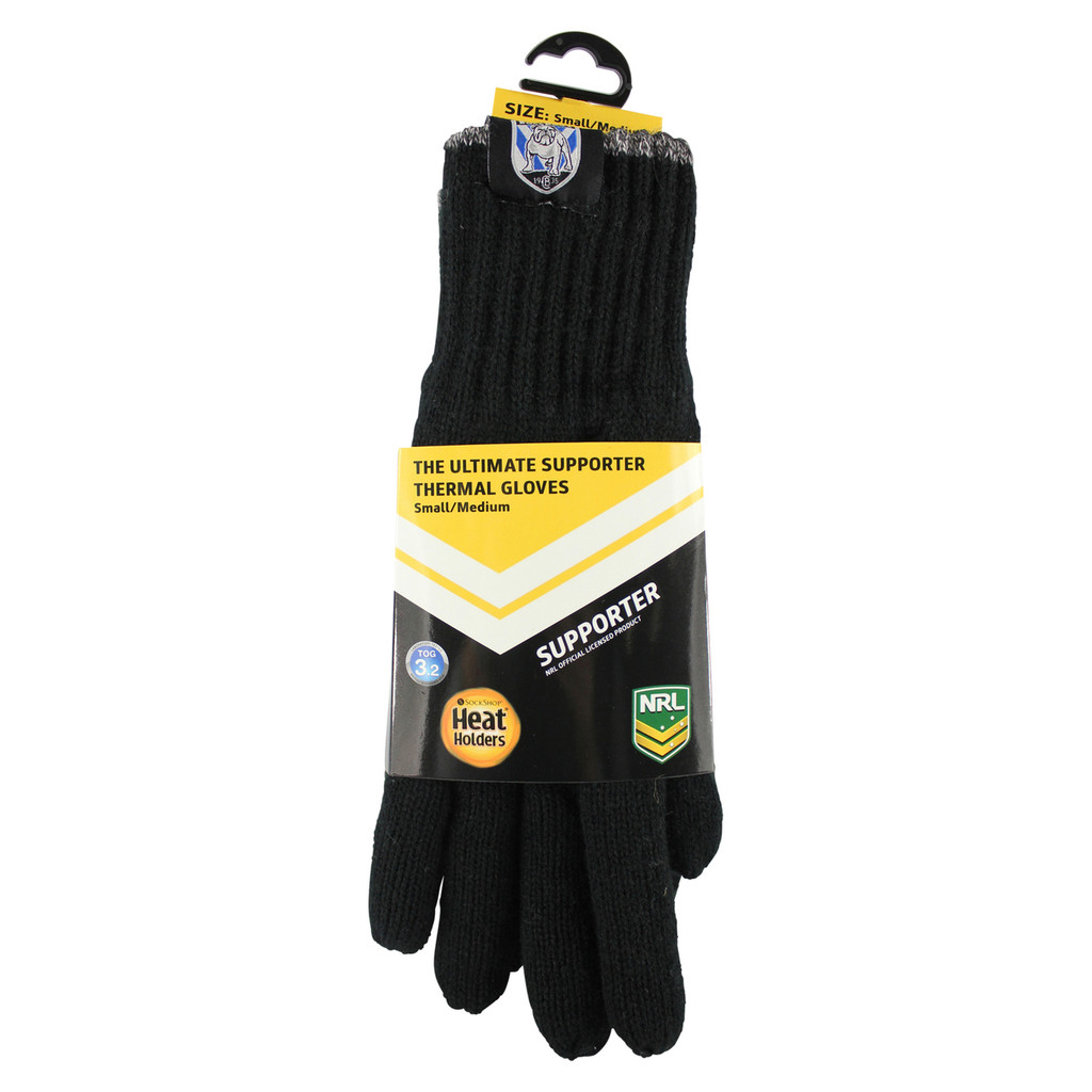 Thermal Gloves Canterbury Bulldogs