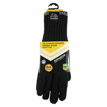 NRL Heat Holders Thermal Gloves Penrith Panthers