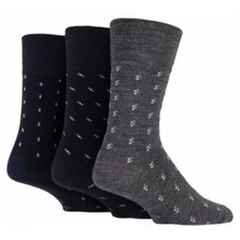 3Pk Wool Blend Buisness Sock