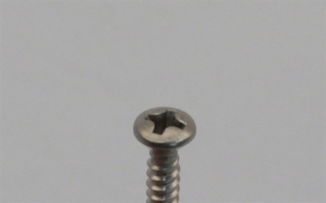 Picture of Oval Head Screws, Size 6 Type A