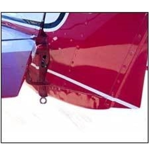 Installed Cessna 150 and 152 rudder bottom, replaces Cessna part number 0431005-1. Product number 26-11-80A.