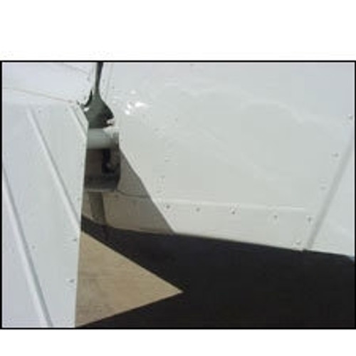 Installed Cessna 172 Rudder Bottom Tip (1983-1986)(Includes 172R and 172S models) 28-11-80A, 0533155-1