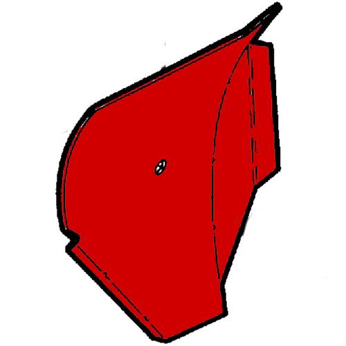 BEECHCRAFT 1900, 1900C, 1900D Glarshield Escutcheon P101-530461-1, 101-530461-1