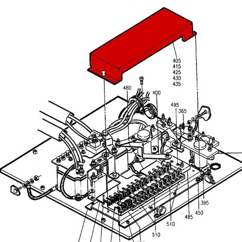 P114-361055-5 Beechcraft 1900, 1900C Cover Assy - Electric