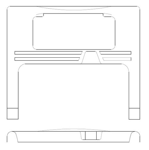 P77500-09 Panel - Trim, Lower Door, Right