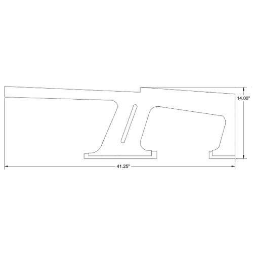 Piper PA-32, PA-34 Rear, Right Window Trim Cover P78349-11, 78349-11.