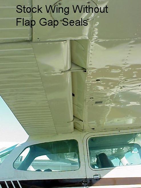 Cessna Flap Gap Seal Kit, Cessna 206 Models. C206FGS