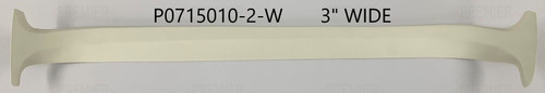 CESSNA 182N, 182P, 182Q, R182 Moulding - Upper Aft Window P0715010-2, 0715010-2