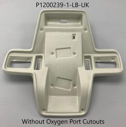 Cessna 210L, T210L, 210M, T210M, 210N, T210N Escutcheon (Without Oxygen   Port Cutouts) P1200239-1, 1200239-1, 1200239-2, 1200239-3, 1200239-4