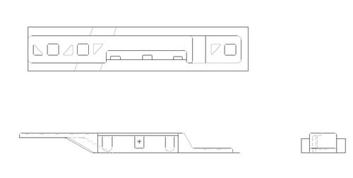 P2215027-1  LH Rear Armrest