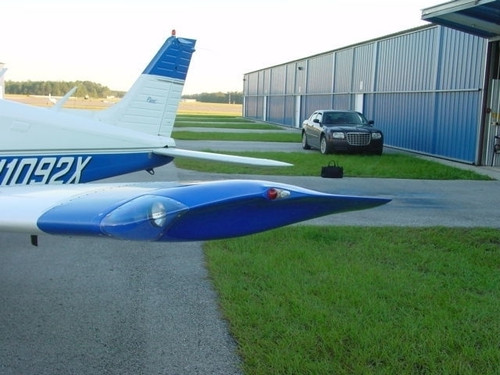 Piper PA-28 Wing Tips w/ Landing Lights. RD-6000