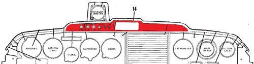 CESSNA 50L INSERT-EYEBROW P0415005-1, 0415005-1