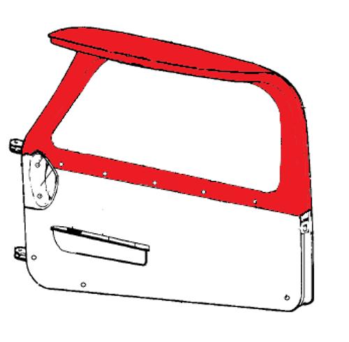 PIPER PA-34-220T COVER - Cabin Door Upper P79542-18, 79542-18