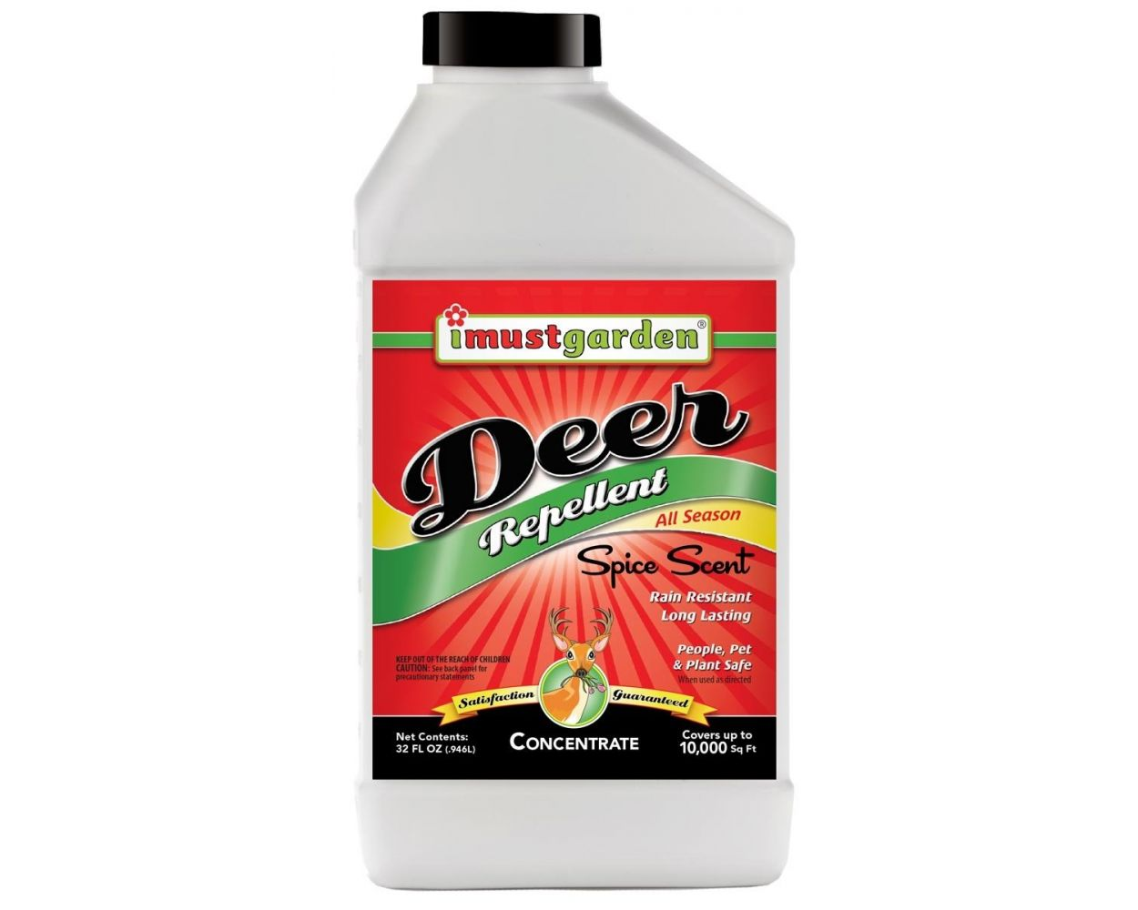 I Must Garden Deer Repellent - Concentrate