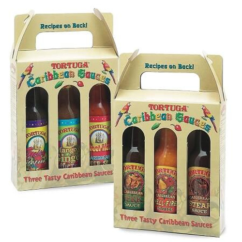 2 Three Packs Tortuga Caribbean Sauce Pack (6 Bottles)
