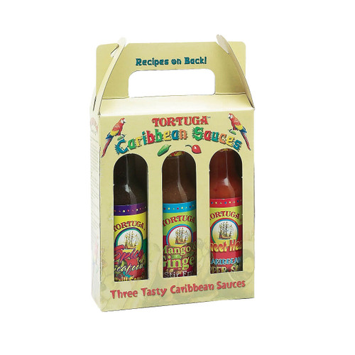 Tortuga Sweet & Spicy Sauce Pack (3 Bottles)