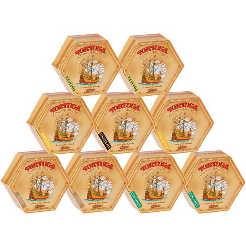 Case of 9 Tortuga Rum Cake VARIETY (16oz)