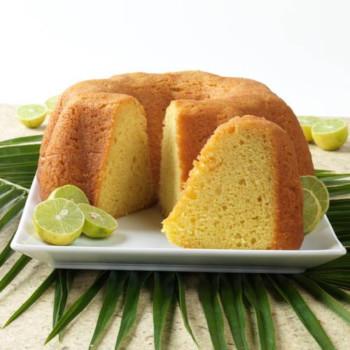 Tortuga Key Lime Rum Cake
