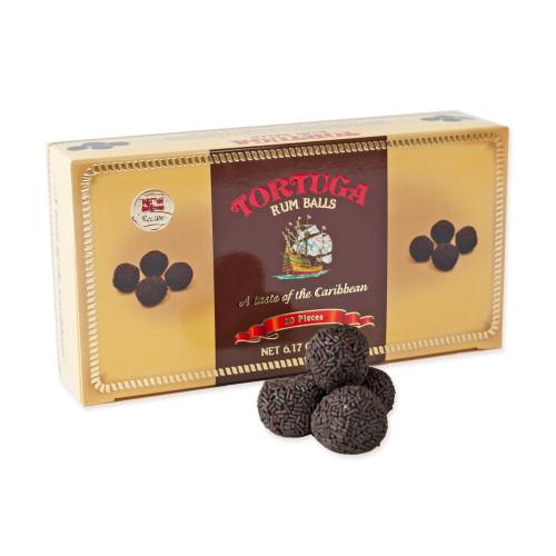 Tortuga Chocolate Rum Balls