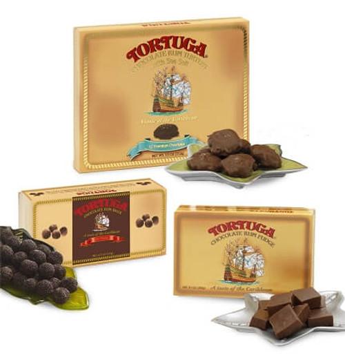 Tortuga Chocolate Rum Trio