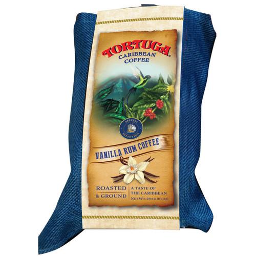 Tortuga Caribbean Vanilla Rum Coffee