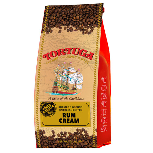 Tortuga Rum Cream Coffee (2 Bags)