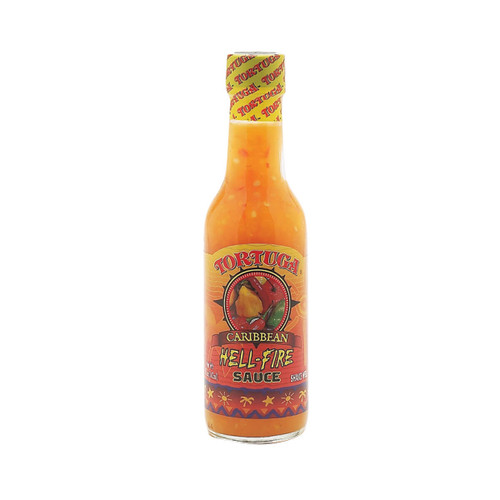 Tortuga Hell-Fire Hot Pepper Sauce (3 Bottles)