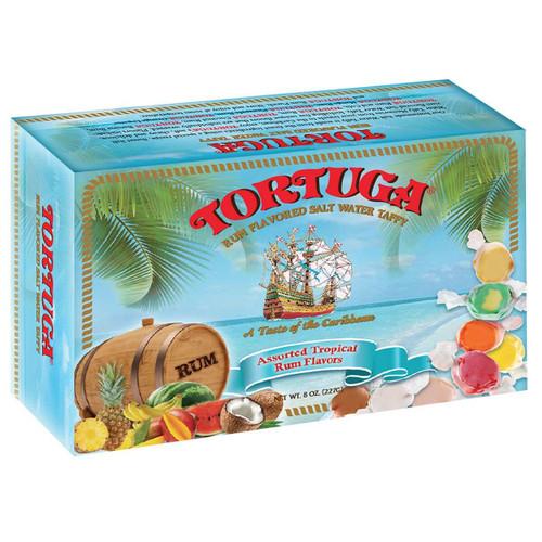 Tortuga Rum Flavored Salt Water Taffy