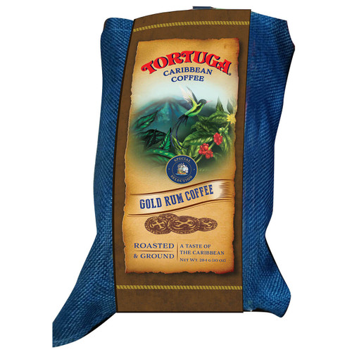 Tortuga Caribbean Gold Rum Coffee