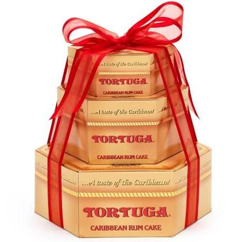 Tortuga Gift Cake Tower